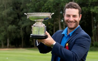 Burden joins Faldo, Fleetwood, Westwood and Lyle as English County Champion of Champions