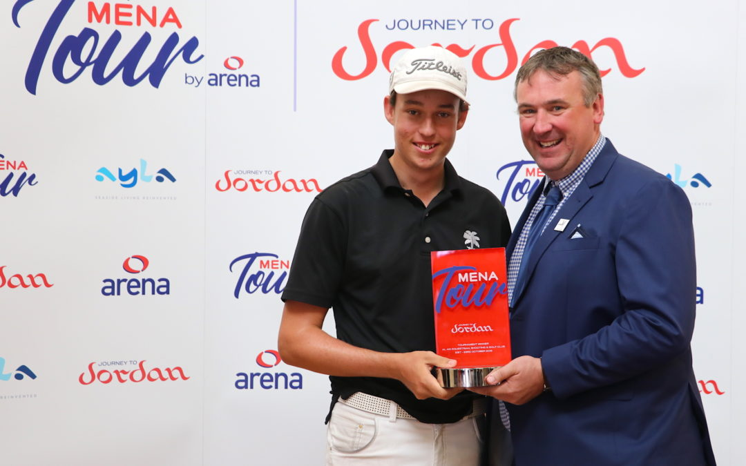 Ellis picks up winner's cheque but Josh Hill sets record as youngest OWGR event winner at 15
