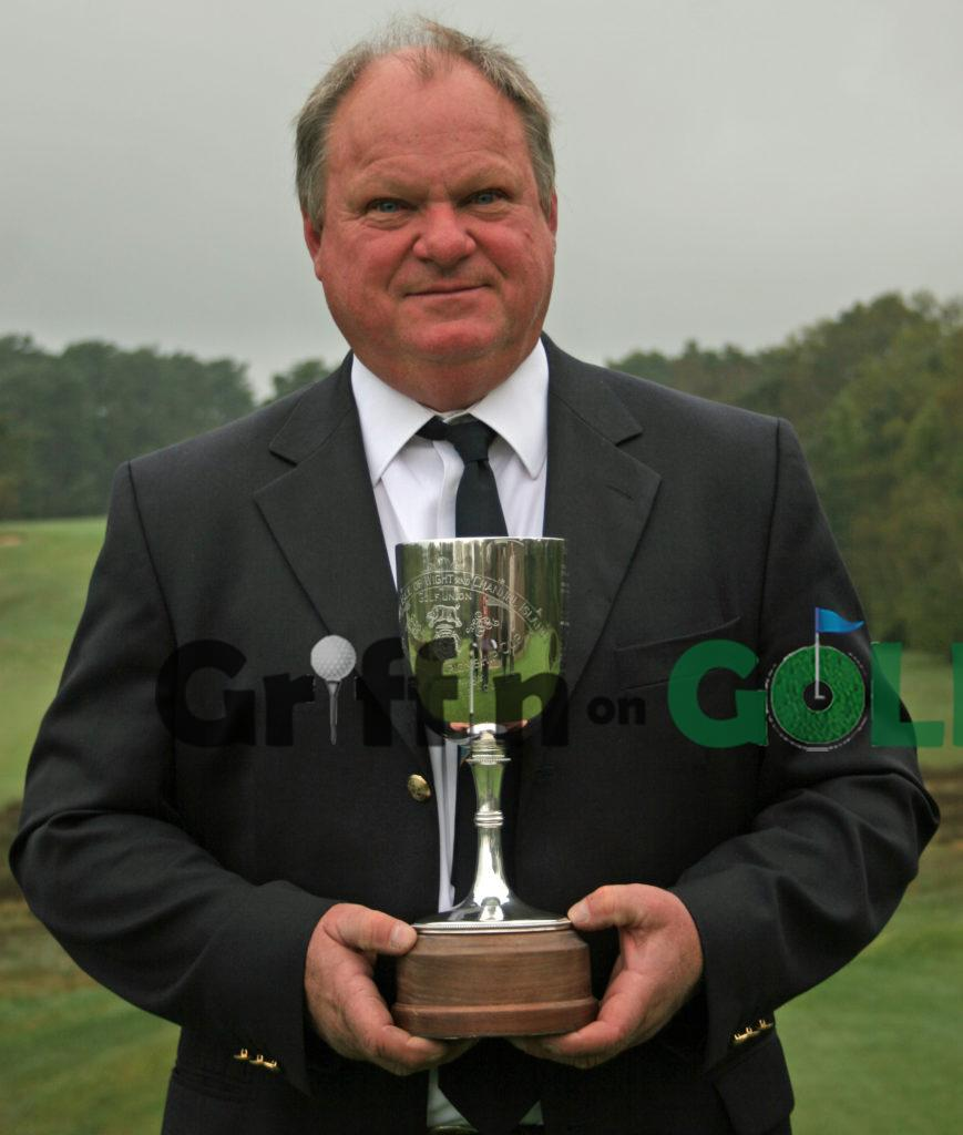 2012 Hampshire, Isle of Wight and Channel Islands Seniors Champion Alan Mew