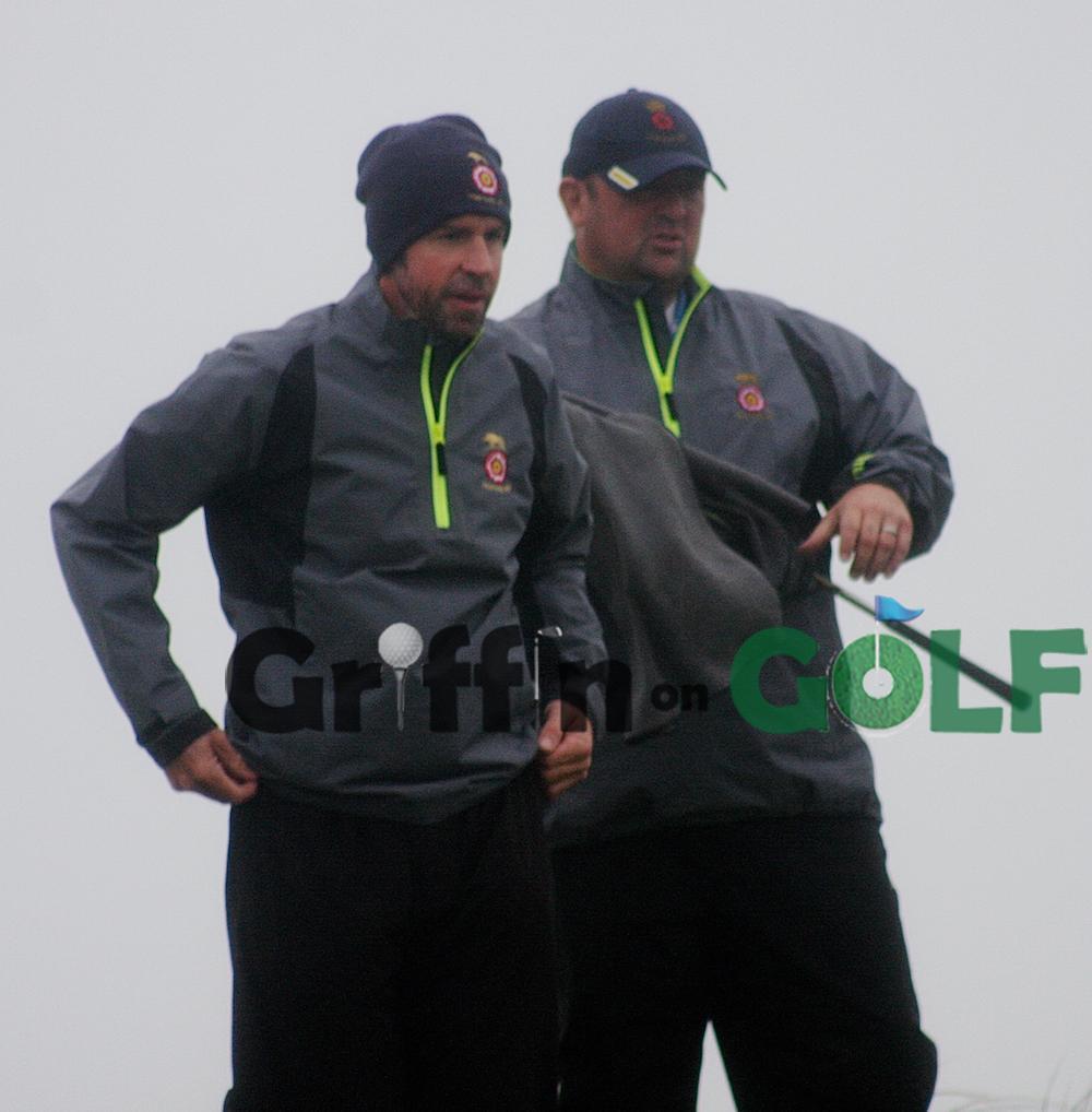 County captain Neil Dawson (right) with Matt Wilcox