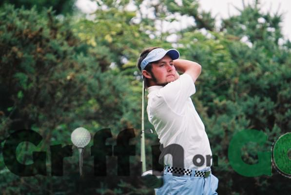 Basingstoke's Stuart Archibald at the 2005 Hampshire Youths Championship at Hartley Wintney Golf Club
