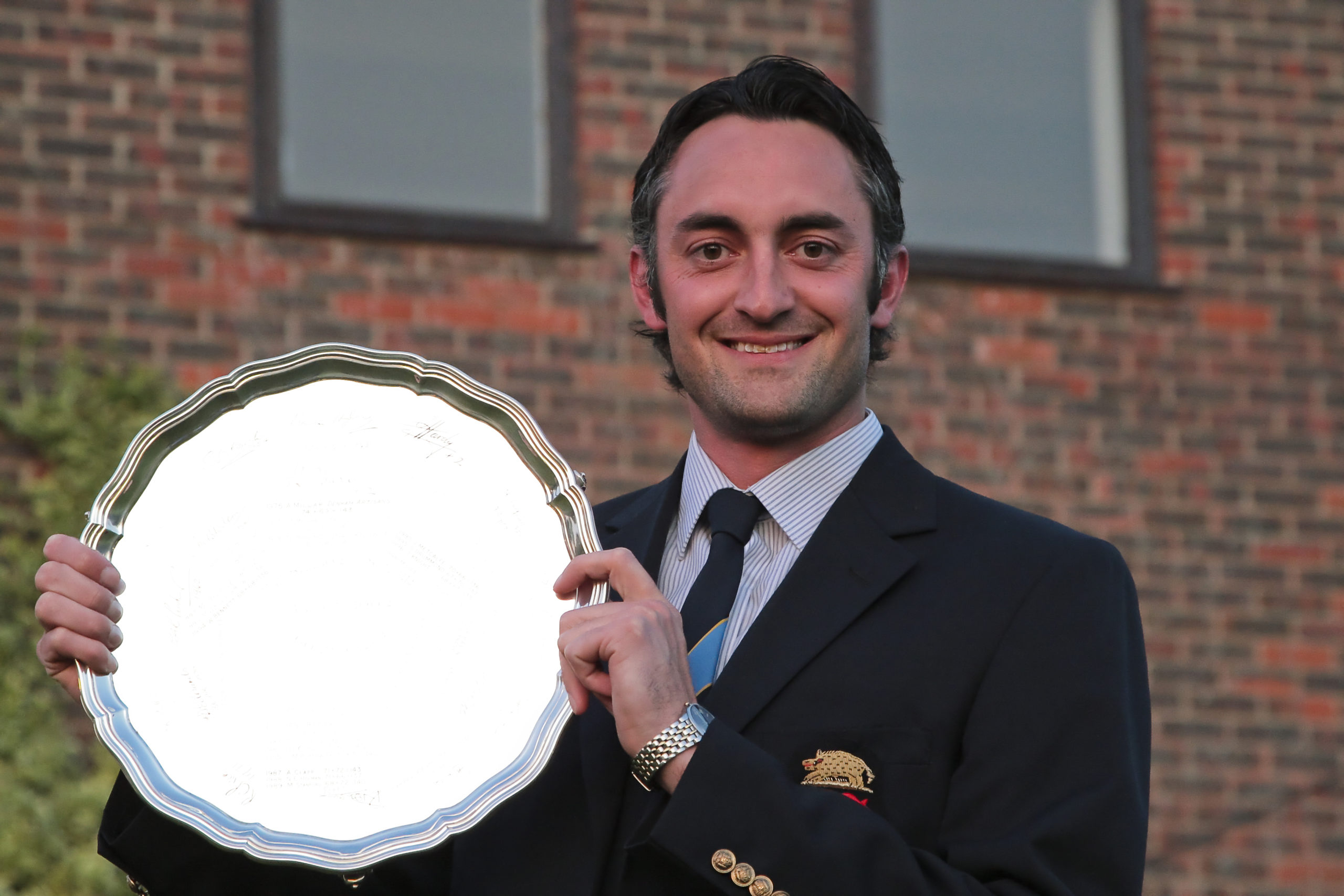 Blackmoor's Mark Burgess the only player from the host club to win the Selborne Salver