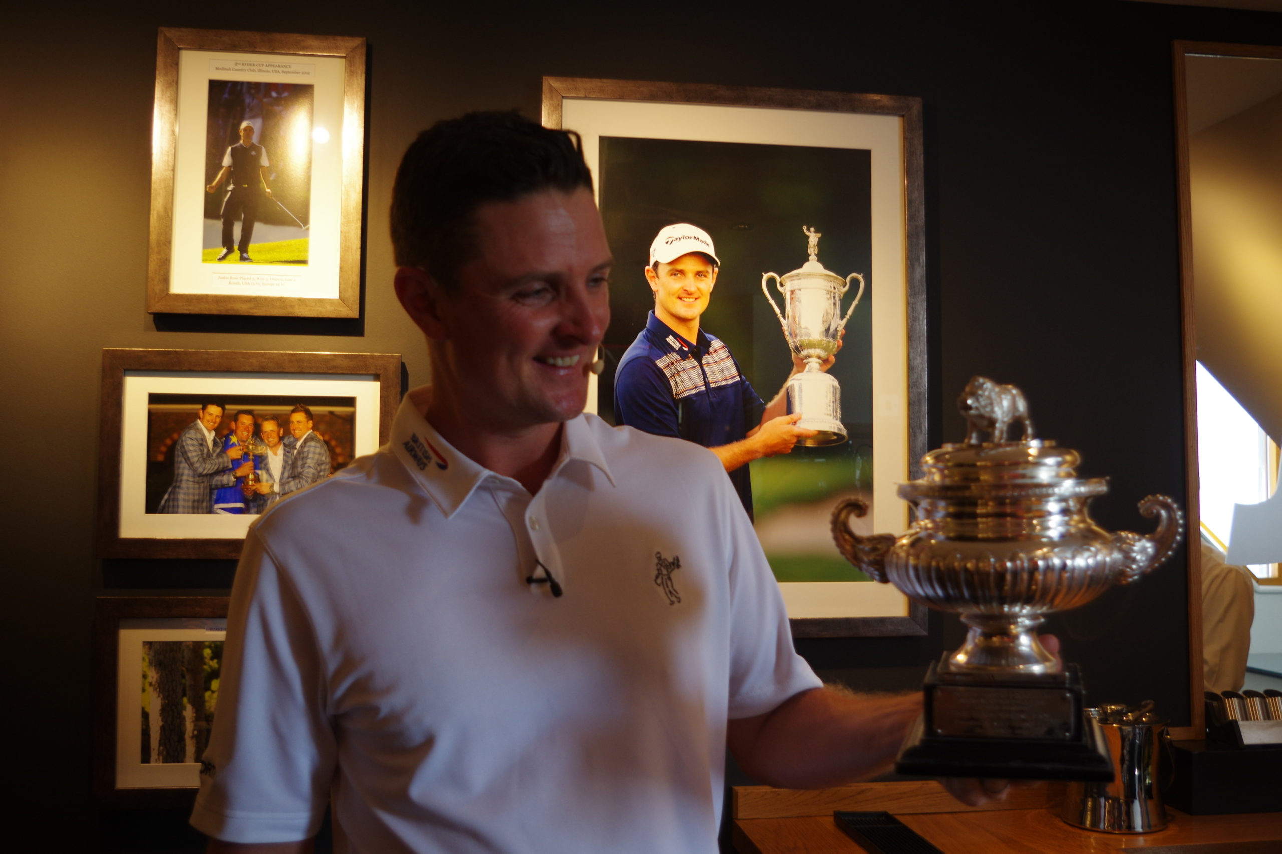 Justin Rose a past winner of the Hampshire Hog