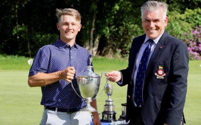 Hail Jo Hacker after heroic three birdies finish to beat Burden in county final at North Hants