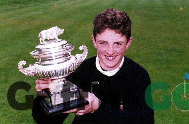 Justin Rose the Hampshire Hog winner in 1995