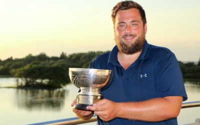 Hutsby and leading amateurs hit the Wall in Hampshire Open at Hayling