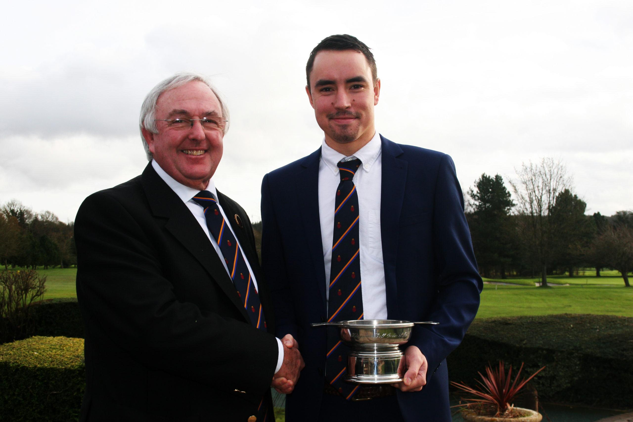 Cullen Quaich winner Darren Walkley (right)