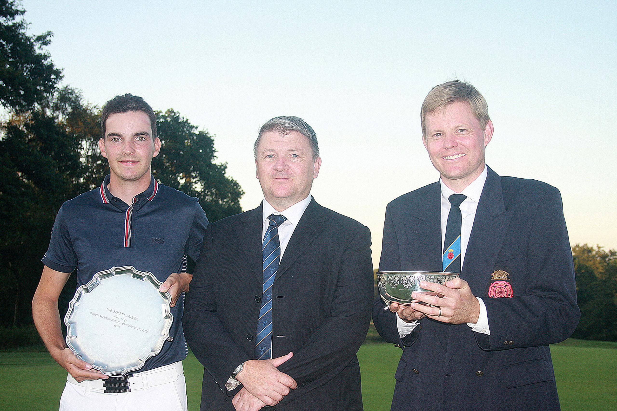 Stoneham Trophy winner Ryan Henley