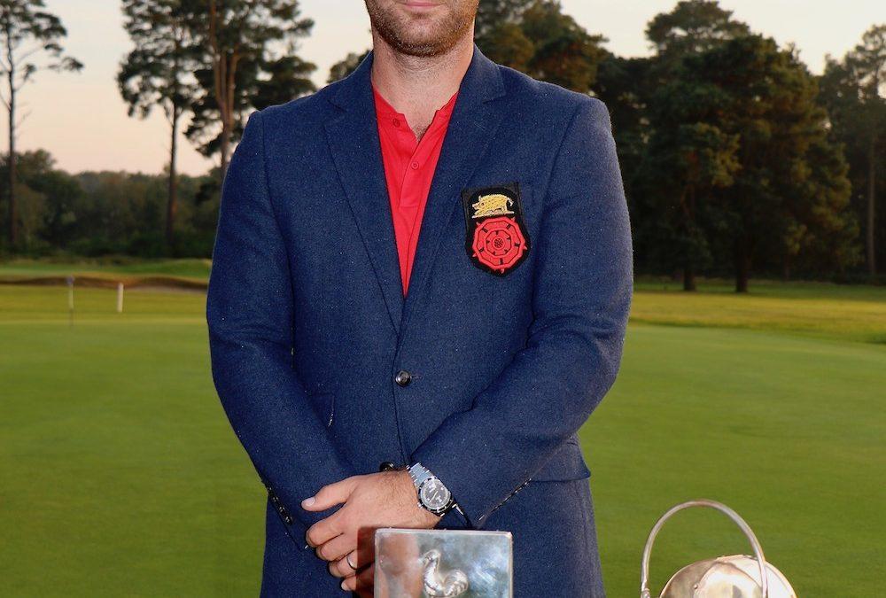 Toby Burden the 2021 Courage Trophy winner