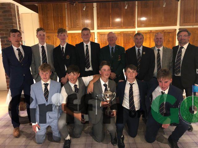 Hampshire South East Boys U16 League Final winners 2018