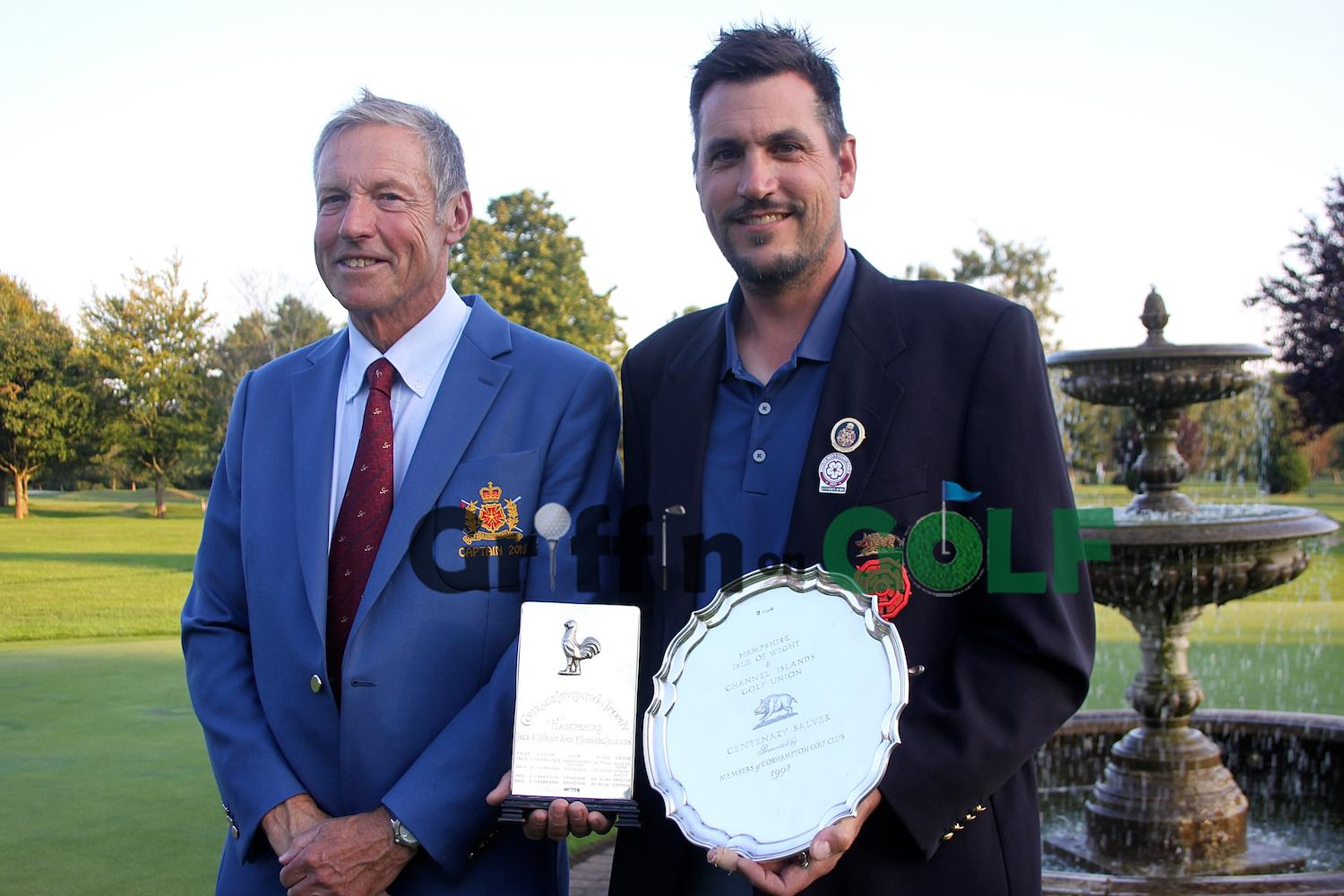 Hampshire Mid-Amateur Trophy winner Martin Young